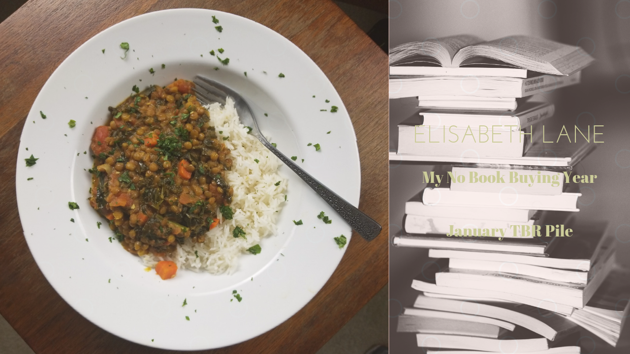 January TBR and Kale Lentil Stew